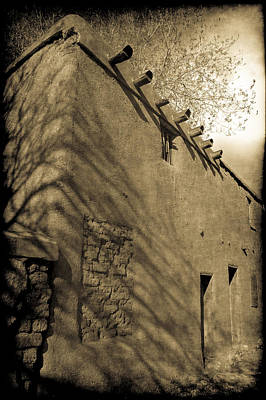 Santa Fe Adobe Poster