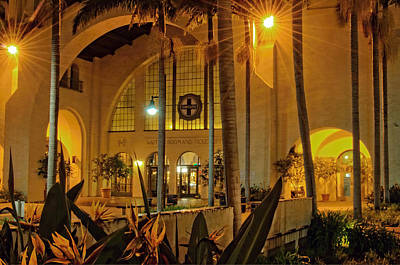 Santa Fe Depot- San Diego Poster by See My  Photos