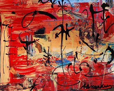 Divertimento No.21 - Santa Fe Poster by Alexandra Jordankova