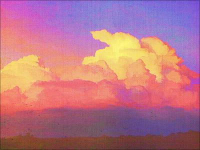 Santa Fe Sunset Poster