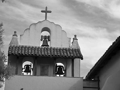 Santa Ines Mission Bell Tower Poster