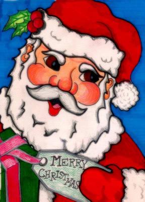 Santa  Poster by Jame Hayes