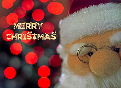 Santa  Poster by Spikey Mouse Photography