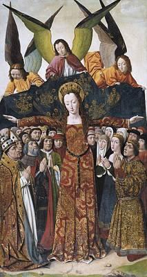 Santa Maria Del Campo, Master Of 14th Poster by Everett