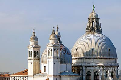 Santa Maria Della Salute In Venice Poster