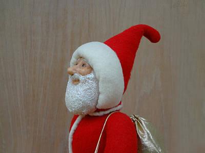 Santa Sr. - Keeping The Faith Poster by David Wiles