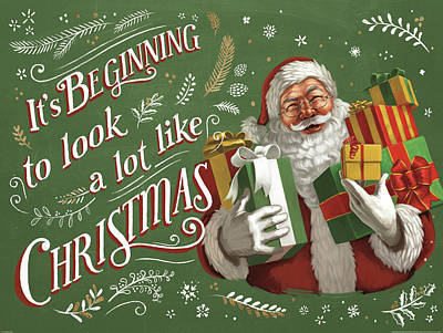 Santas List Iv Poster