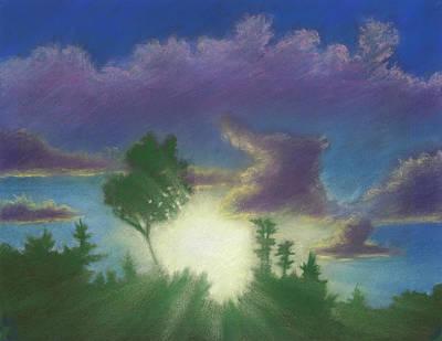 Santee Sunset 02 Poster
