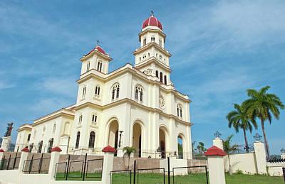 Santiago, Cuba, Famous Church Called Poster by Bill Bachmann