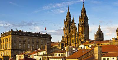 Santiago De Compostela Cathedral Galicia Spain Poster