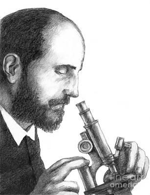 Santiago Ramon Y Cajal, Scientist Poster by Spencer Sutton