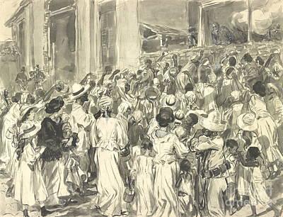 Santiago Refugees 1898 Poster by Padre Art