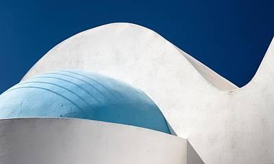 Santorini Abstract Poster