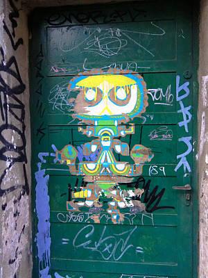 Sao Paulo Green Door II Poster by Julie Niemela