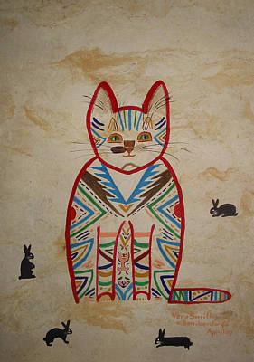 Sarah's Cat Poster