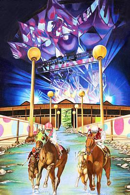 Satatoga Performing Arts Center Poster by Joshua Morton