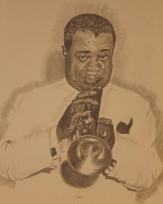 Satchmo Poster by Michael McGrath