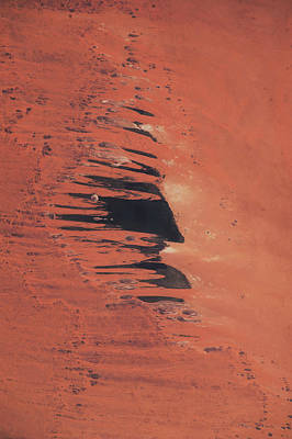 Satellite View Of Ennedi Desert, Chad Poster