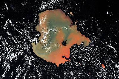 Satellite View Of Lake Tana, Amhara Poster