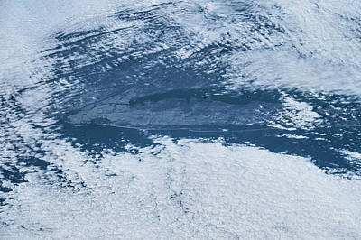 Satellite View Of Long Island, New York Poster