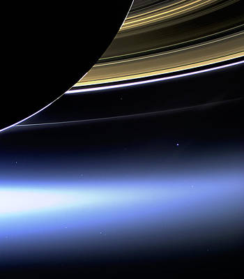 Poster featuring the photograph Saturn 2 by Renee Anderson