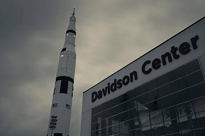 Saturn V Rocket Engine Detail, Used Poster