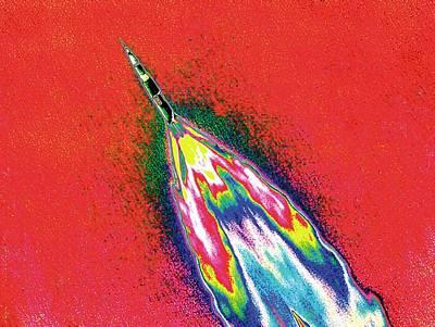 Saturn V Rocket Poster by Nasa/detlev Van Ravenswaay