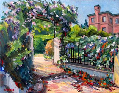 Sausalito Garden Poster by Robert Gerdes
