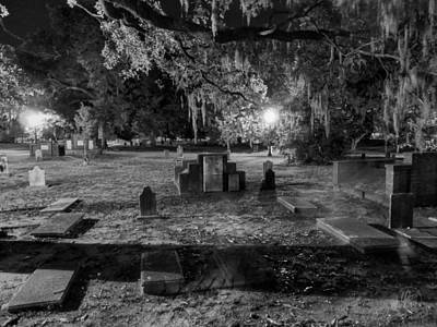 Savannah - Bonaventure Cemetery 001 Poster