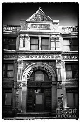 Savannah Cotton Exchange Poster