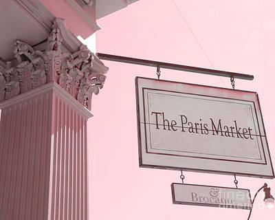 Savannah Georgia French Market - The Paris Market And Brocante - Parisian Flea Market Brocante Shop  Poster