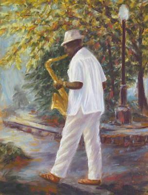 Savannah Jazz Poster