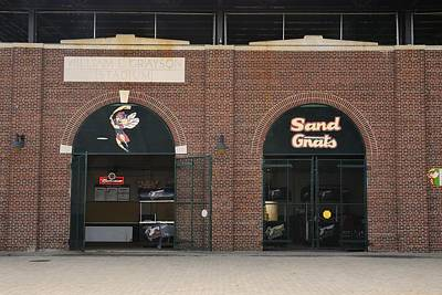 Savannah Sand Gnats At Grayson Stadium Poster