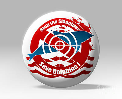 Save Dolphins Poster