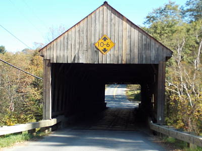 Sayres Covered Bridge Poster