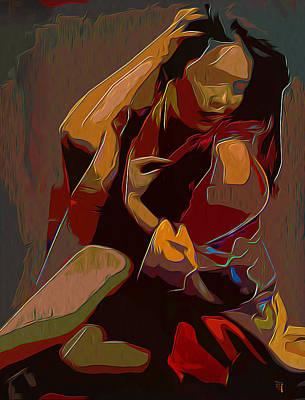Scarlet Poster by  Fli Art