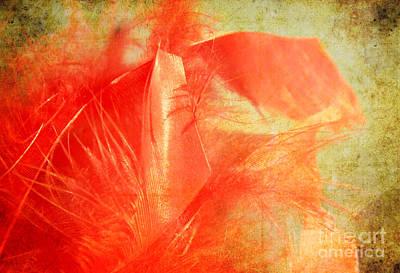 Scarlet On Vintage Poster