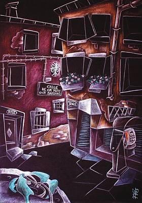 Scarpe Da Tango - Contemporary Venetian Artist - Modern Art Poster by Arte Venezia