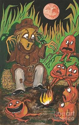 Scarycrowstories Poster by Margaryta Yermolayeva