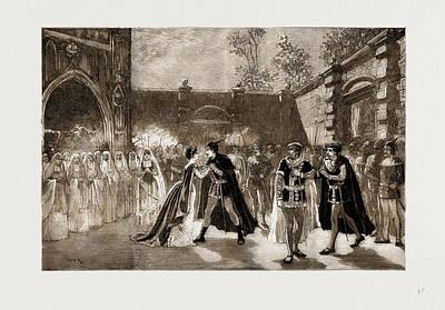 Scene From Il Trovatore At Covent Garden Theatre, London Poster