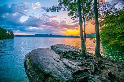 Scenery Around Lake Jocasse Gorge Poster
