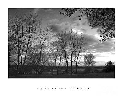 Scenic Lancaster County Poster