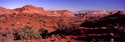 Scenic View Of Capitol Reef National Poster by Panoramic Images