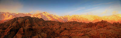 Scenic View Of Mountains, Mount Poster by Panoramic Images