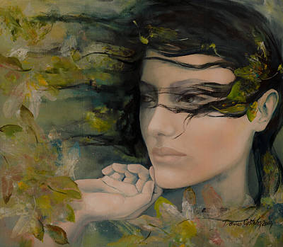 Scent Of October Poster by Dorina  Costras