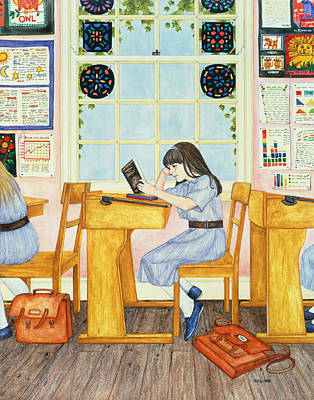 School, 1986 Poster