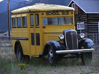 School Days Poster by Steven Parker