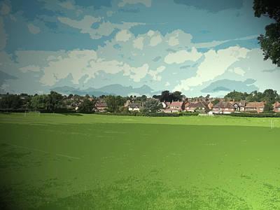 School Sports Fields In Ashbourne,  School Sports Fields Poster