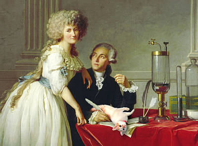 Science Cats - Lavoisier Poster
