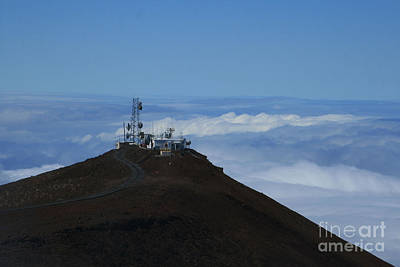 Science City Haleakala Poster by Sharon Mau